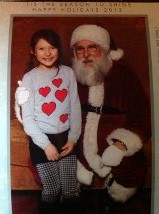 dasha anmd Santa