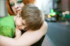 shy parent
