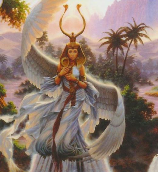 картинки исида богиня